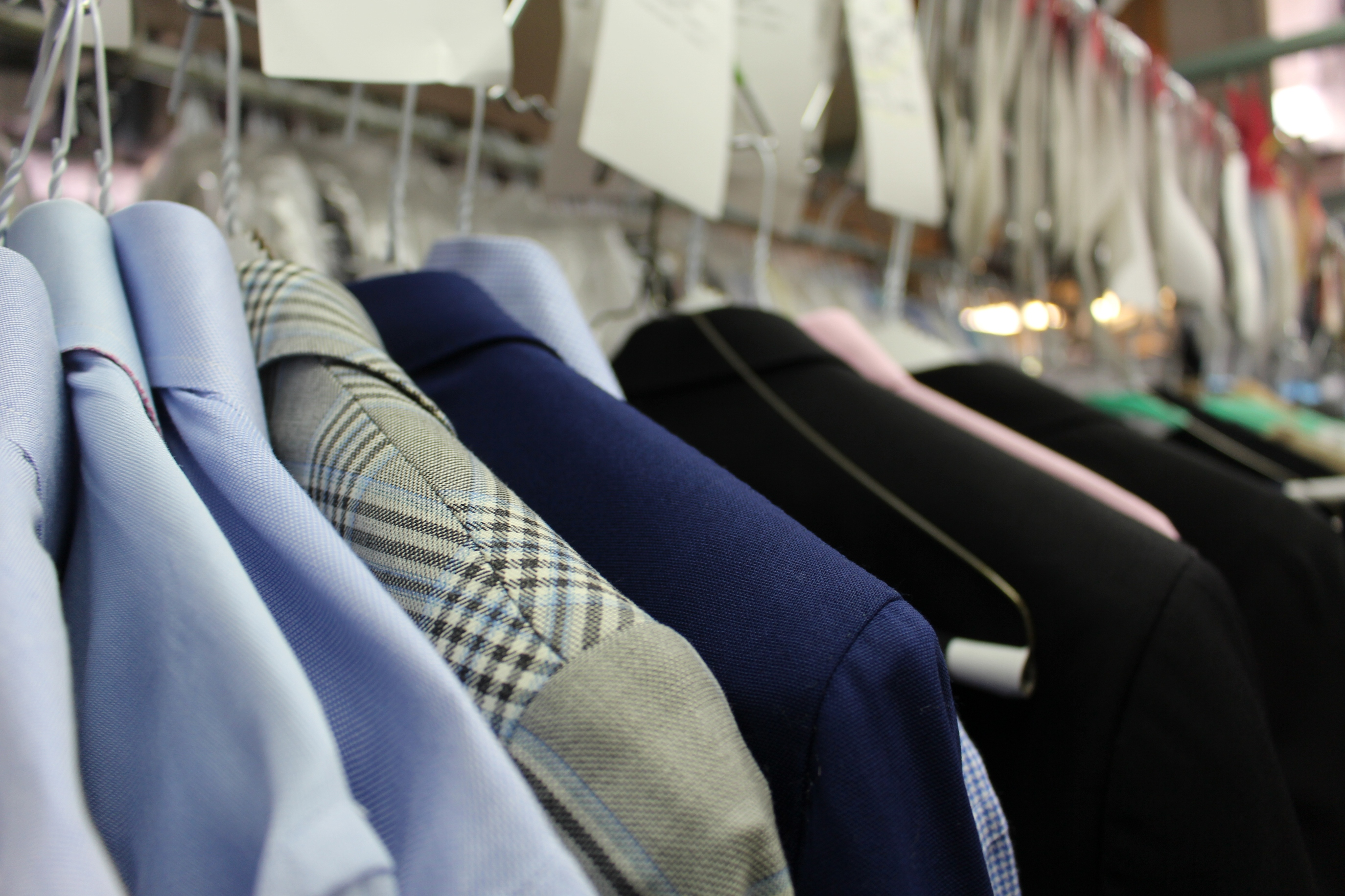 Professional suit alterations