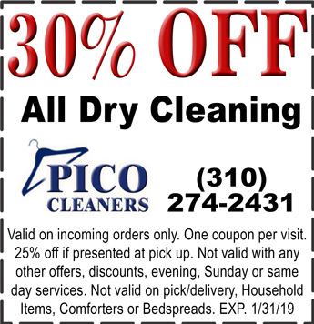 Pico Cleaners Coupons Pico Cleaners