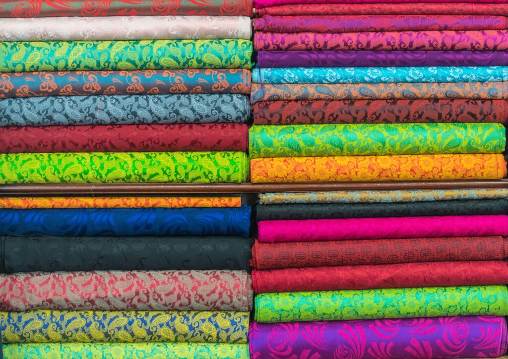 Different types of fabric 2